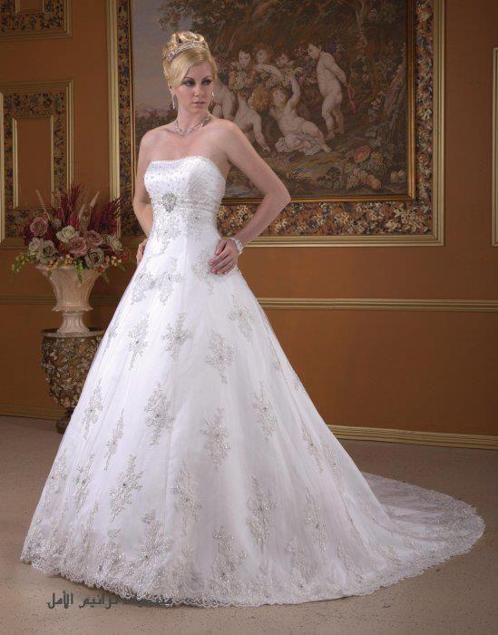 8fa9f4e23633e صور فساتين زفاف