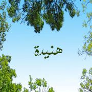اسم هنيدة عربي و انجليزي مزخرف , معنى اسم هنيدة وشعر وغلاف ورمزيات 2016 2015_1416007716_592.