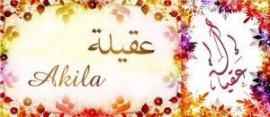 صور اسم عقيلة مزخرف انجليزى , معنى اسم عقيلة و شعر و غلاف و رمزيات 2016