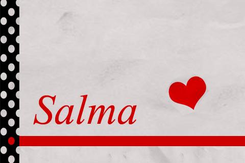 صور اسم سلمى مزخرف انجليزى , معنى اسم سلمى و شعر و غلاف و رمزيات 2016