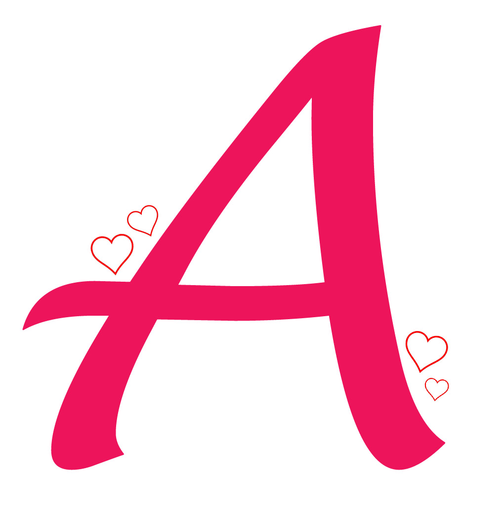 a    ...M Letter In Heart