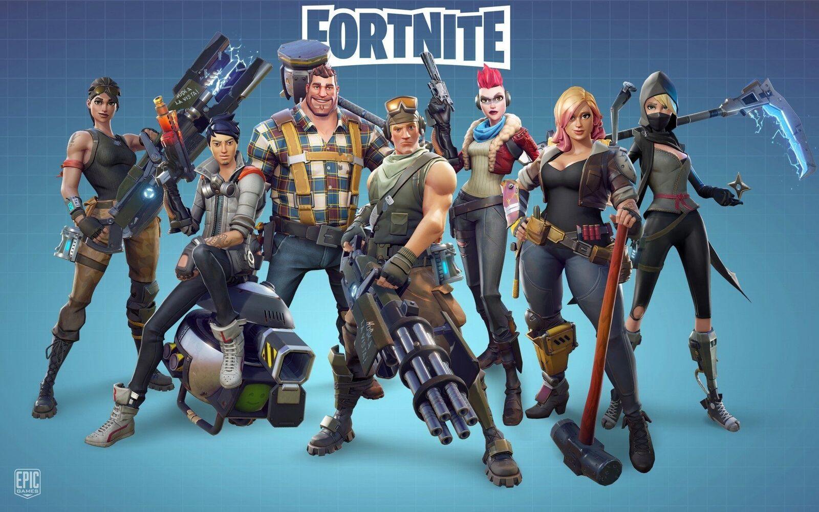 خلفيات لعبة Fortnite عالية الدقة خلفية 4k لعبة فورت نايت لعبة فورت نايت بالصور صقور الإبدآع
