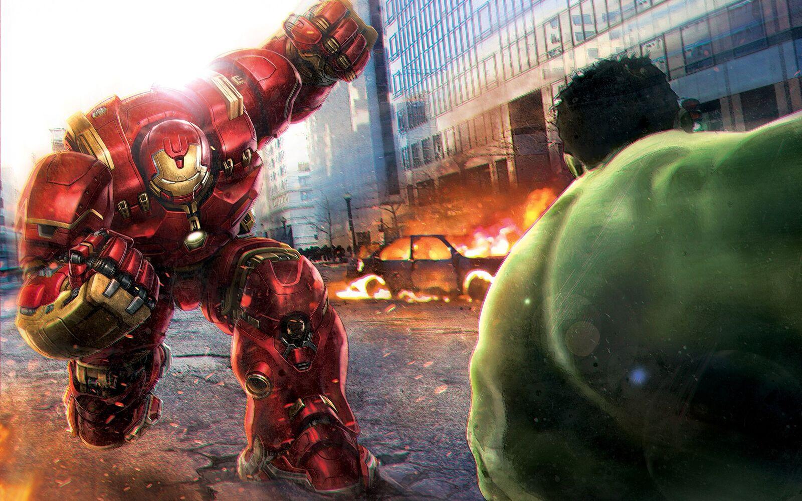 لعبة the incredible hulk للاندرويد