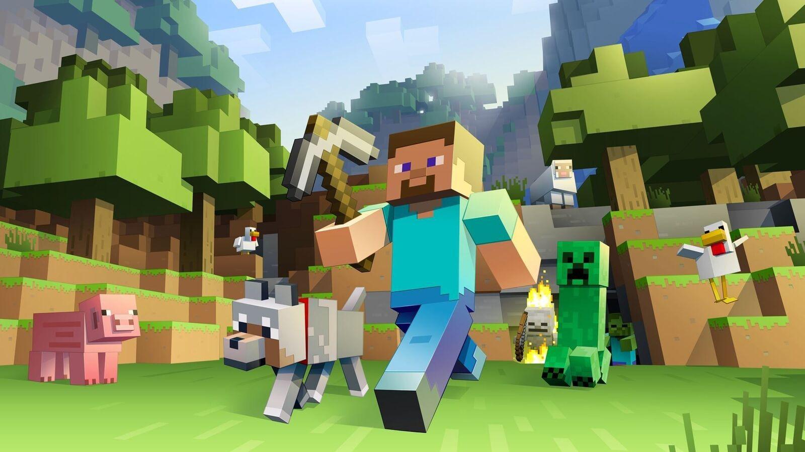 خلفيات لعبة Minecraft اجمل صور ماين كرافت عالية الجودة صقور الإبدآع