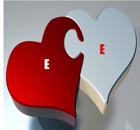حرف E مع E بصورة واحدة رمزيات حلوة لحرف E وحرف E ارقى صور لحرف الإى مع حرف الإى صقور الإبدآع