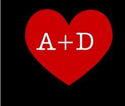 صور حرف A مع D , صور a و D رومانسية حب , خلفيات قلب جديدة 2020 ...