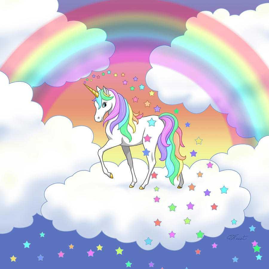 خلفيات قوس قزح يونيكورن صور حصان خيالى قوس قزح 2021 Rainbow Unicorn Wallpapers صقور الإبدآع