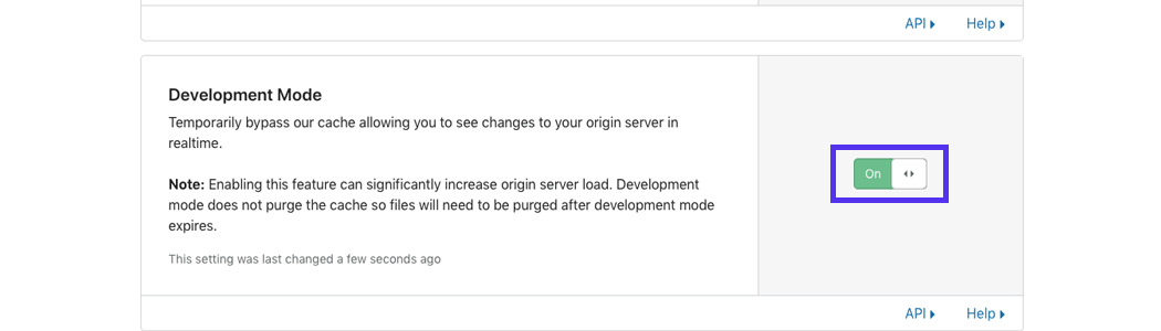 kinsta-disable-cloudflare-development-mode.png