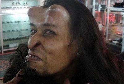 صور غريبة لرجل - اغرب صور العالم شيطان بريطانية! 2013_1371953477_369.