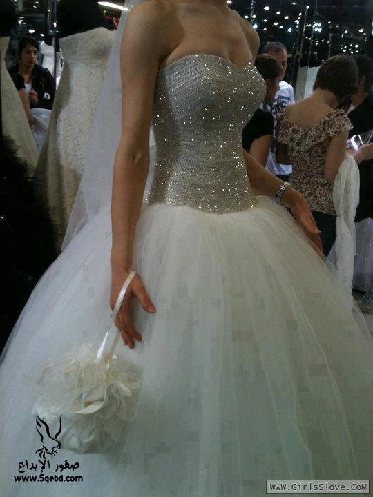 16c1cf788ec64 فساتين زفاف تحفة - فساتين زفاف - فساتين للعرايس - فساتين - موضة الفساتين - Dresses  للعرايس