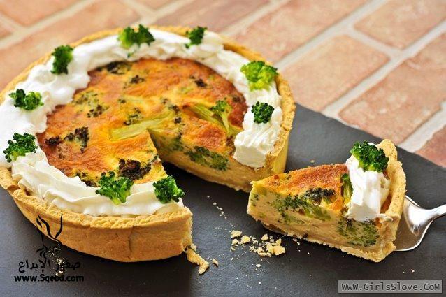 ����� ��� ����� �������� ������ - ��� �������� �� �����  , Broccoli Cheese Pie Recipe 2013_1372643817_963.