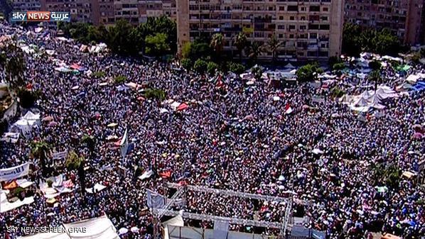 صور مؤيدين مرسي برابعة العدوية ضد الانقلاب - صور إعتصام رابعة العدوية المؤيدة لمرسي 2013_1374706280_231.