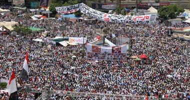 صور مؤيدين مرسي برابعة العدوية ضد الانقلاب - صور إعتصام رابعة العدوية المؤيدة لمرسي 2013_1374706282_366.