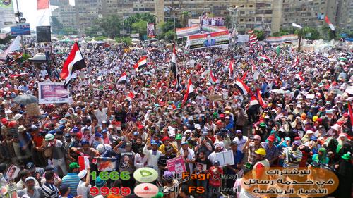 صور مؤيدين مرسي برابعة العدوية ضد الانقلاب - صور إعتصام رابعة العدوية المؤيدة لمرسي 2013_1374706282_684.