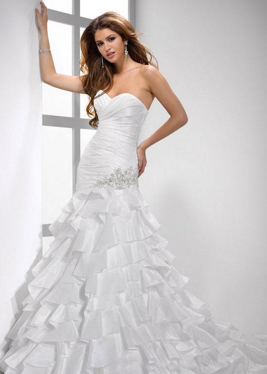 أجمل فستان للزفاف - صور فساتين زفاف 2013_1374706649_401.