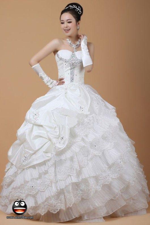 أجمل فستان للزفاف - صور فساتين زفاف 2013_1374706655_875.