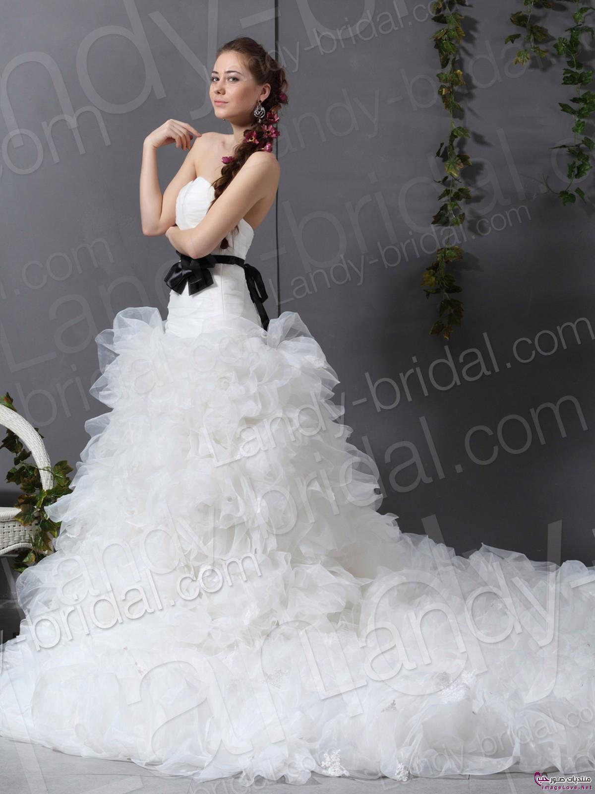 أجمل فستان للزفاف - صور فساتين زفاف 2013_1374706658_108.