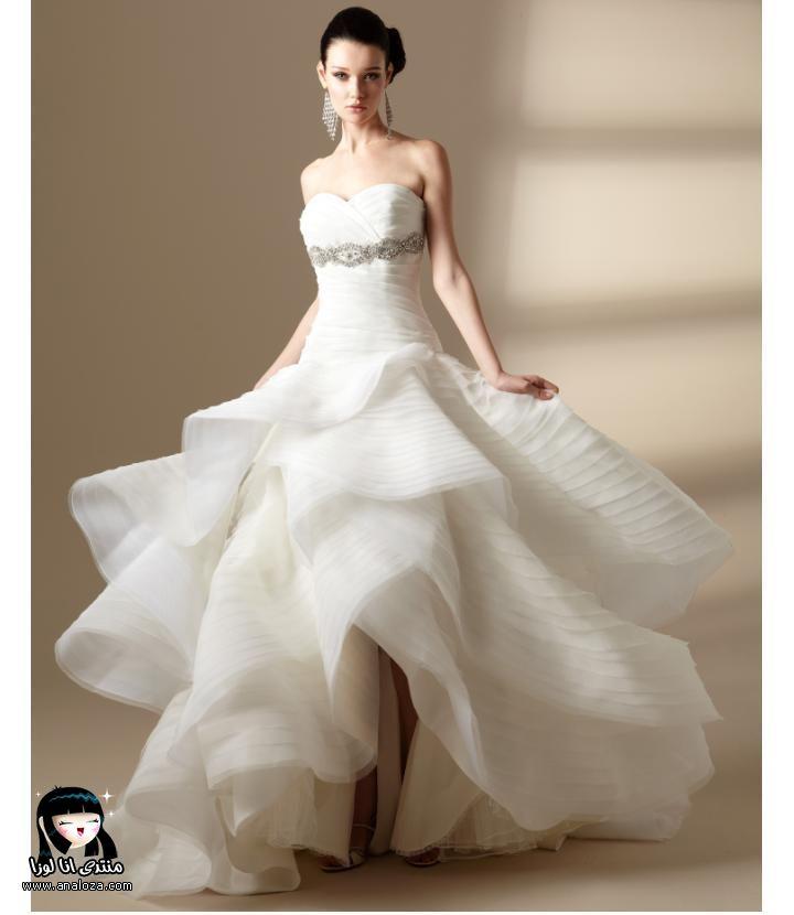 أجمل فستان للزفاف - صور فساتين زفاف 2013_1374706658_563.