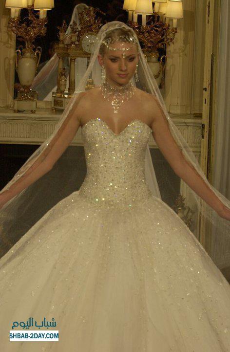 أجمل فستان للزفاف - صور فساتين زفاف 2013_1374706658_773.