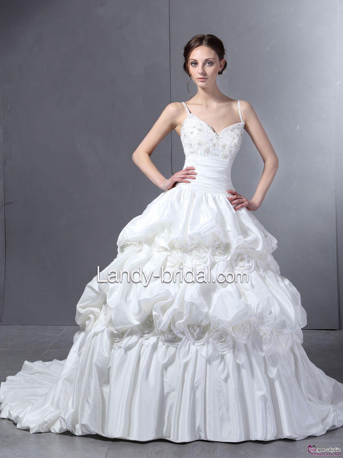 أجمل فستان للزفاف - صور فساتين زفاف 2013_1374706658_810.