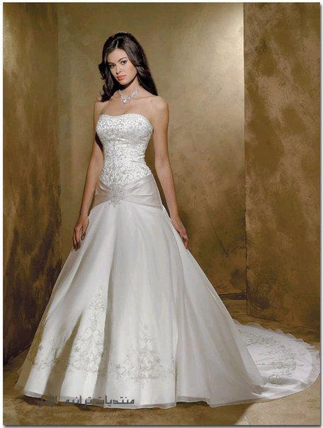 أجمل فستان للزفاف - صور فساتين زفاف 2013_1374706659_857.