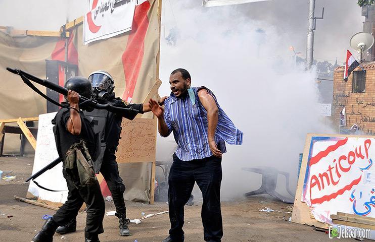 صور الهجوم على رابعة العدوية والنهضة من قبل الجيش - صور فض إعتصام رابعة العدوية والنهضة 2013_1376505177_312.