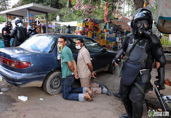 صور الهجوم على رابعة العدوية والنهضة من قبل الجيش - صور فض إعتصام رابعة العدوية والنهضة 2013_1376505177_461.