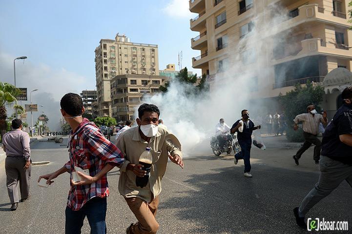 صور الهجوم على رابعة العدوية والنهضة من قبل الجيش - صور فض إعتصام رابعة العدوية والنهضة 2013_1376505177_921.