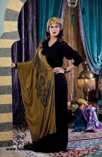 ���� ������ ������� ������ ������  Fashion Abaya sweet 2013_1383118412_152.