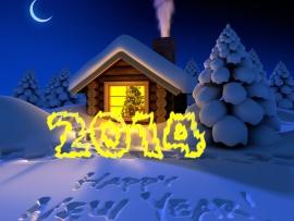 مسجات رأس السنة 2017 جميله جداً , Happy new year 2018 2013_1385008214_650.