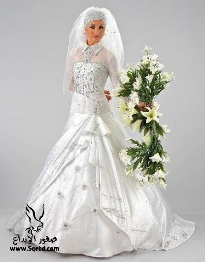 اجدد فساتين زفاف ,  Wedding dresses veiled 2013_1385083816_287.