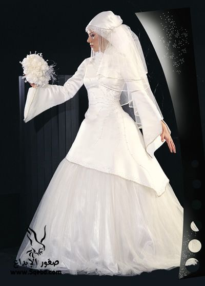 اجدد فساتين زفاف ,  Wedding dresses veiled 2013_1385083816_620.