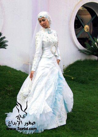 اجدد فساتين زفاف ,  Wedding dresses veiled 2013_1385083818_738.