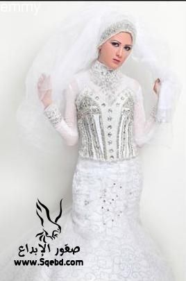 اجدد فساتين زفاف ,  Wedding dresses veiled 2013_1385083819_409.