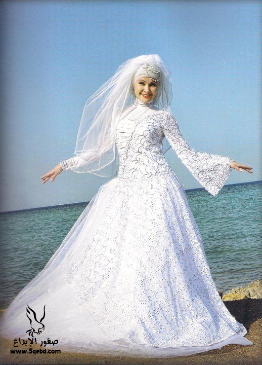 اجدد فساتين زفاف ,  Wedding dresses veiled 2013_1385083821_416.