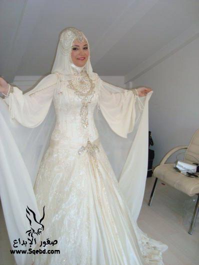 اجدد فساتين زفاف ,  Wedding dresses veiled 2013_1385083824_992.