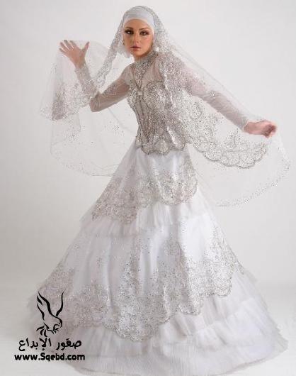 اجدد فساتين زفاف ,  Wedding dresses veiled 2013_1385083826_914.