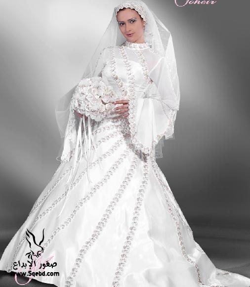 اجدد فساتين زفاف ,  Wedding dresses veiled 2013_1385083827_368.