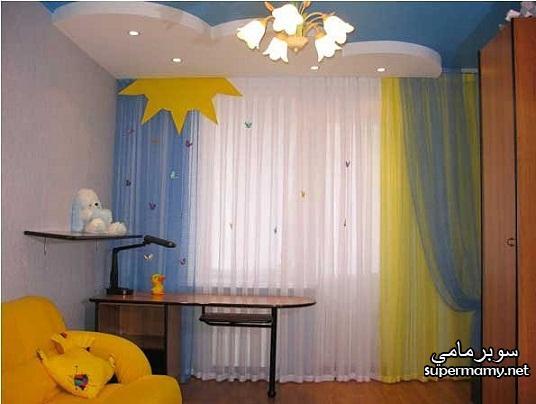 احلى صور ستائر غرف نوم الاطفال , اروع الوان الستائر , استايلات مميزة لستائر الاطفال new_1455401477_854.j