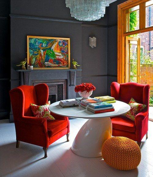 Blue Kitchen London: صور أحدث ديكورات منازل 2019 , ديكورات منازل روعة